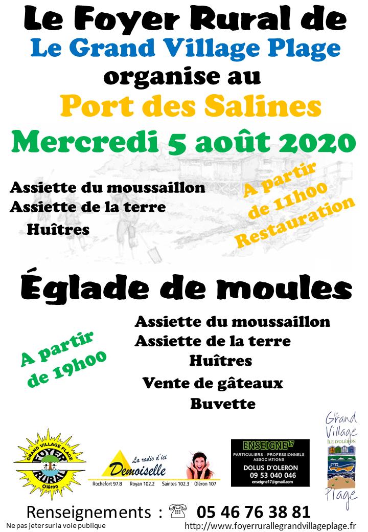 Affiche églade 05 août 2020