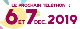 Logo Téléthon 1958-2018