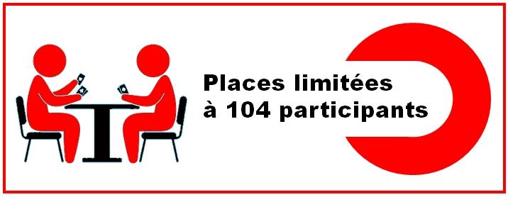 Places limitées