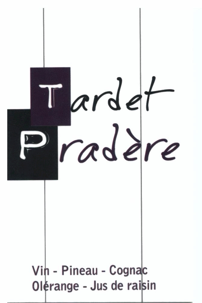 Carte visite TARDET-PRADERE