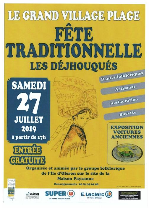 Affiche Déjhouqués 27 juillet