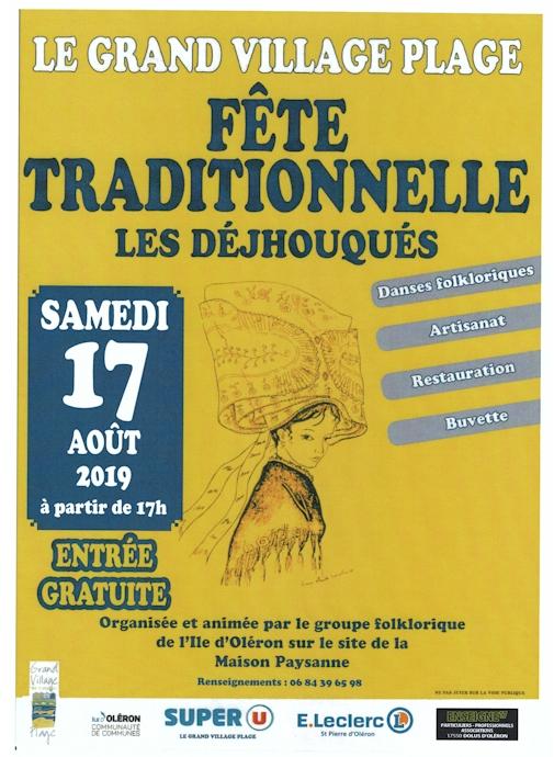 Affiche Déjhouqués 17 août