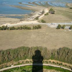 Saint denis d oleron vue du haut du phare de chassiron cmt17 e coeffe