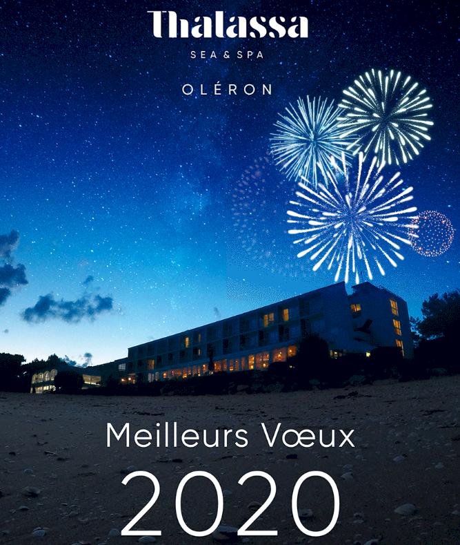 Carte de voeux 2020 Thalassa Oléron