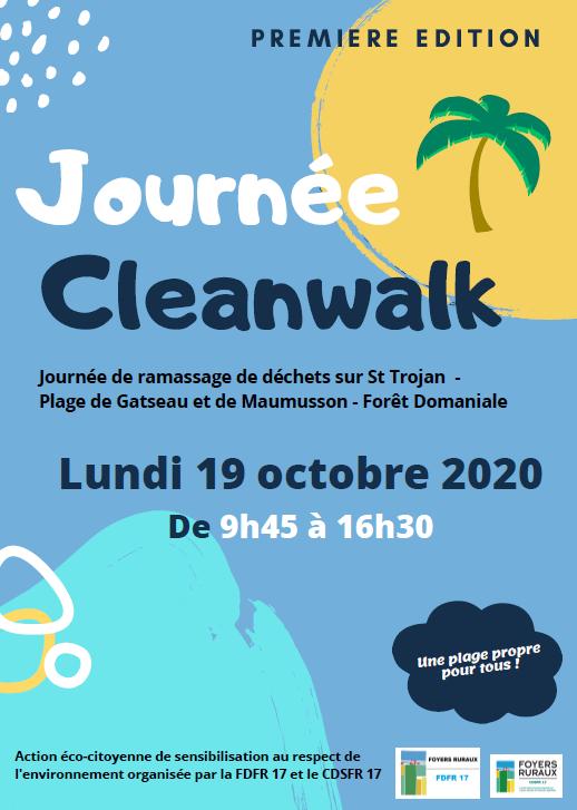 Affiche Cleanwalk 2020