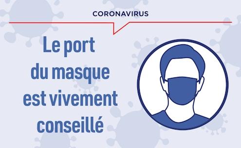 Image port du masque recommandé