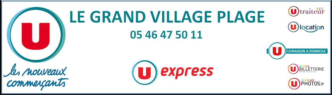 Image Logo U-Express Le Grand Village Plage