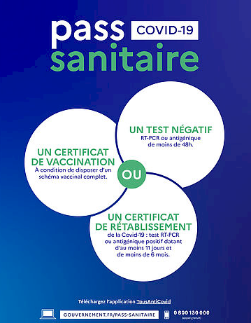 Image affiche Pass Sanitaire