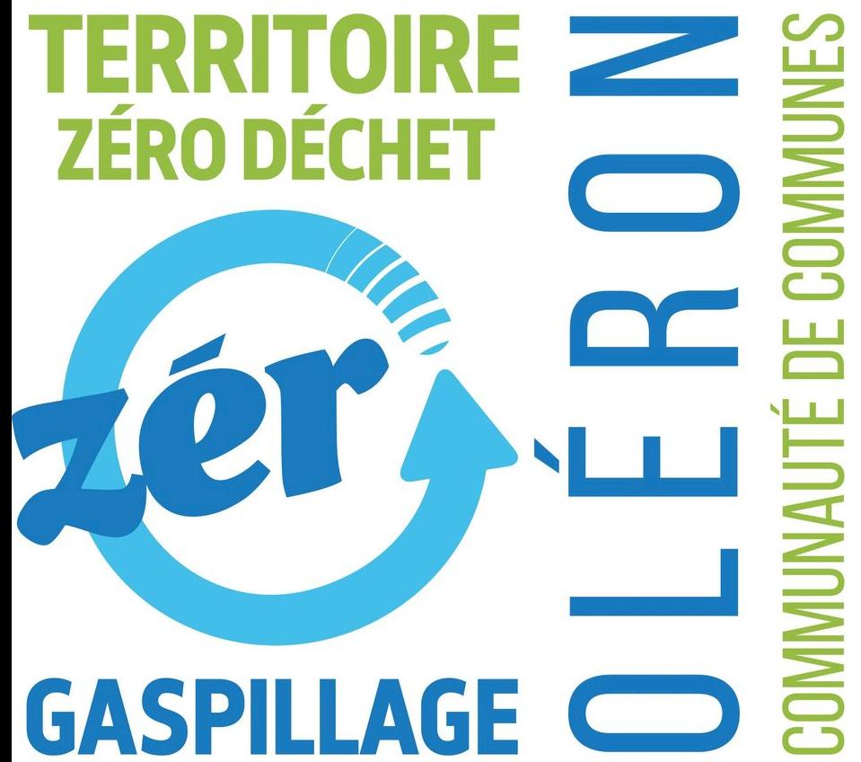 Image logo zéro déchets Oléron CDC