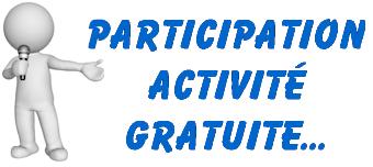 participation activité gratuite