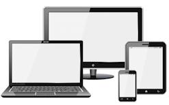 Visuel site internet responsive design